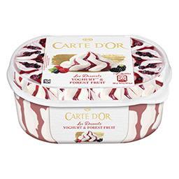 Gelado carte d'or yogurt & forest fruit
