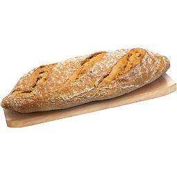 Pão rústico centeio com massa mãe
