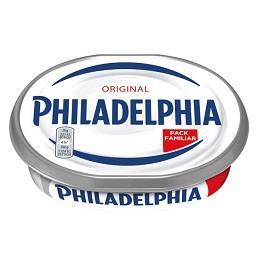 Philadelphia original cream cheese plain