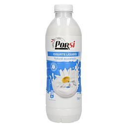 Iogurte liquido natural açucarado