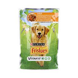 Comida húmida para cão adulto com frango e cenoura e...