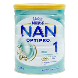 Nan 1 optipro leite inf.optipro desde nascim.800g