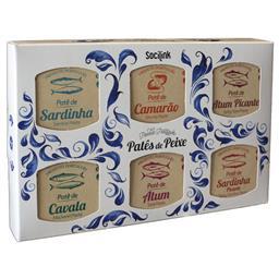 Nº09 patês sardinha/sardinha picante/atum/atum pican...