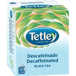 Chá preto, sem cafeína, 10 saquetas