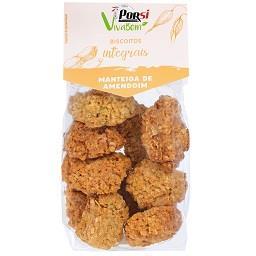 Biscoitos integrais aveia e manteiga de amendoim