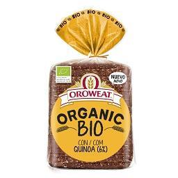 Pão de forma organic bio com quinoa