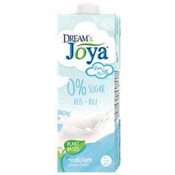 Joya bebida de arroz 0% açúcares uht