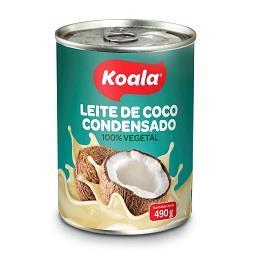 Leite de coco condensado