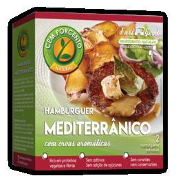 Hambúrguer mediterrânico