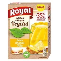Gelatina vegetal de ananás