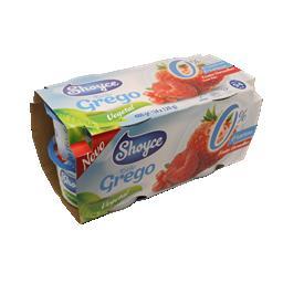 Shoyce soygurt grego bifidus frutos vermelhos 4x120g...