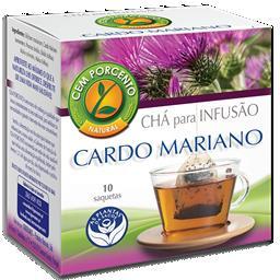 Chá infusão cardo mariano