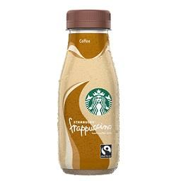 Bebida de leite frappuccino coffe