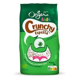 Crunchy kids de espelta origens bio