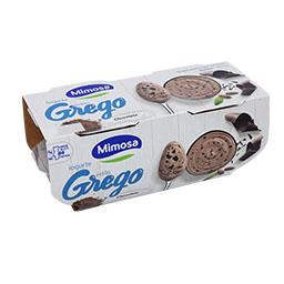 Iogurte estilo grego chocolate