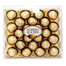 24 bombons de chocolate