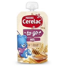 Cerelac papa infantil com cereais e mel