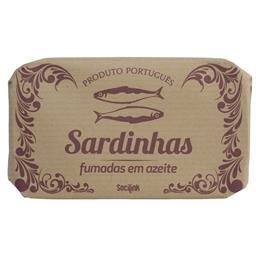 Sardinhas em conserva fumadas em azeite bysocilink