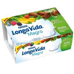 Iogurte aroma 0% tutti fruti/coco