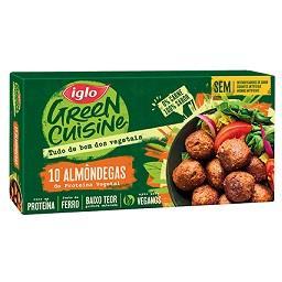 Almôndegas Vegetais Green Cuisine