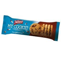 Bolachas com pepitas de chocolate my cookie!