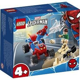 Duelo Spider-Man e Sandeman