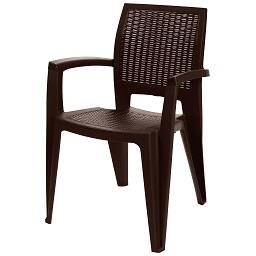 Cadeira caribe castanha