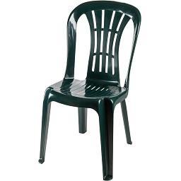 Cadeira casablanca sem braços, verde