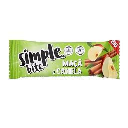 Simple bite maçã e canela