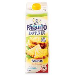 Sumo 100% fresco ananás