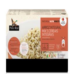 Arroz integral mix 5 cereais pré-cozinhado