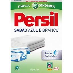 Detergente Maquina Roupa em Pó Sabão Azul e Branco