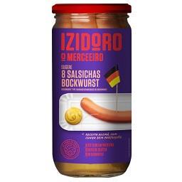 Salsichas bockwurst em frasco, 8 unidades