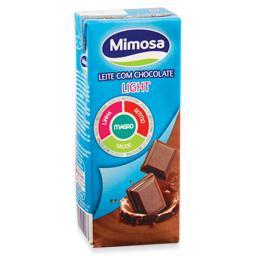 Leite com chocolate light