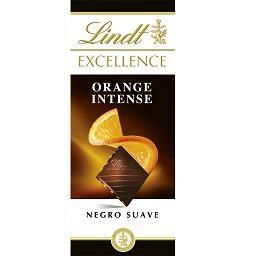Tablete de chocolate excellence, laranja