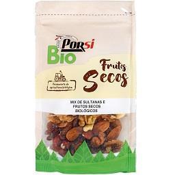 Bio mix sementes fruta e frutos seco