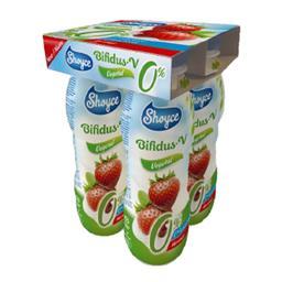 Shoyce soygurt líquido bifidus morango 4x150 ml