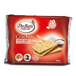 Bolachas crackers c/ sal