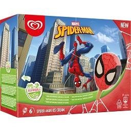 Gelados Disney Spiderman