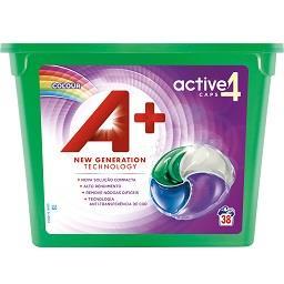 Detergente Cápsulas Máquina de Lavar Roupa Cores 4 e...