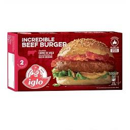2 big burger vaca e queijo s/ glutén