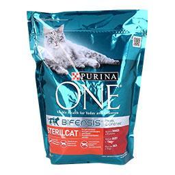 Ração para gato esterilizado com vaca