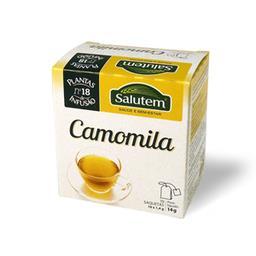 Chá de infusão salutem nº 18 - camomila 10 saquetas