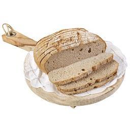 Pão saloio fatiado sem glúten
