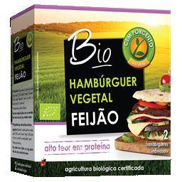 Hambúrguer feijão azuki e cânhamo bio