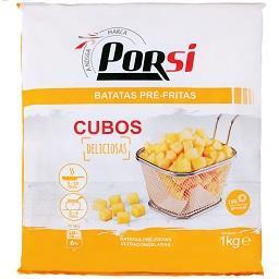 Batata pré-frita cubos