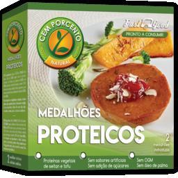 Medalhões proteico - tofu e seitan