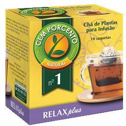Chá infusão nº1 relaxplus