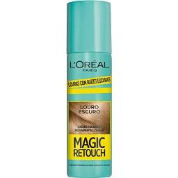 Magic Retouch Spray Retoca Raízes Louro Escuro