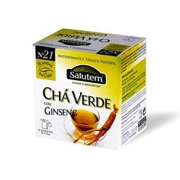 Chá de infusão salutem nº 21 - chá verde com ginseng...